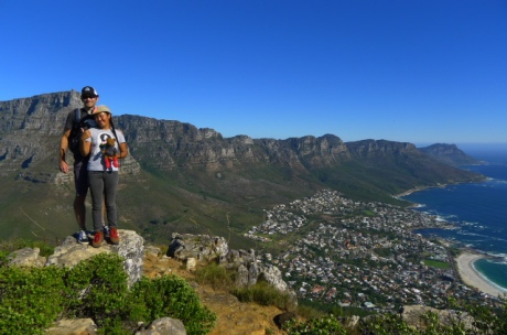 On top of Lion's Head in Cape Town